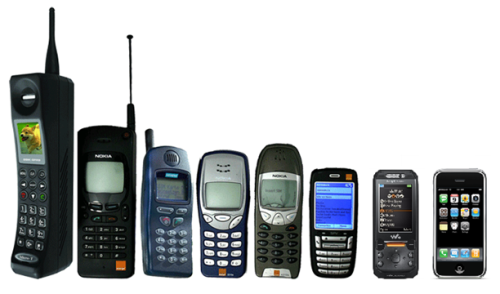 Evolution of the Cell Phone