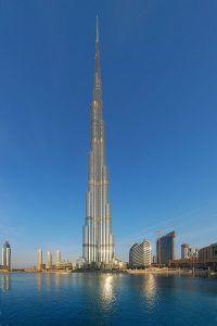 Burj Khalifa, tallest skyscraper (cc) Wikimedia Commons