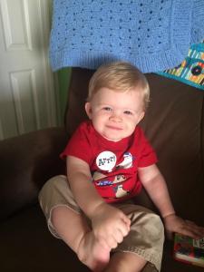 Nicholas, age 14 months